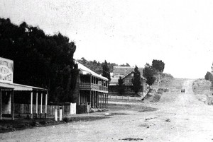 Derbt St looking North c1880s