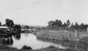 Walcha before levee banks